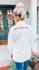 Good Vibes Only Tunic