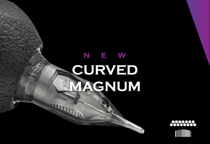 DA VINCI V2Cartridge Needles - Curved Magnum | Bishop Italy Tattoo supply
