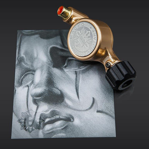 PRE ORDER | MACKO x Fantom Bishop Rotary Tattoo Machine (Fantom Artist Series - ROSE GOLD)