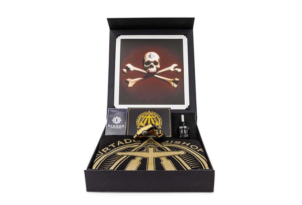 MAGI Limited Edition Gold Box Set - Icon Series Nikko Hurtado x Bishop Rotary Tattoo Machine