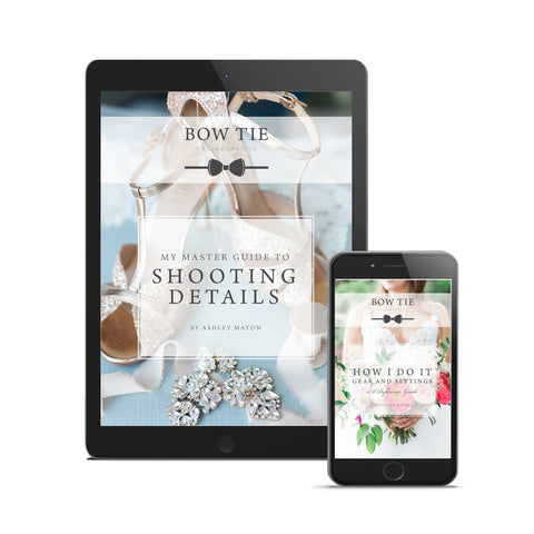 My Master Guide to Shooting Wedding Details + How I Do It, Gear and Settings, A Reference Guide. Instant Download