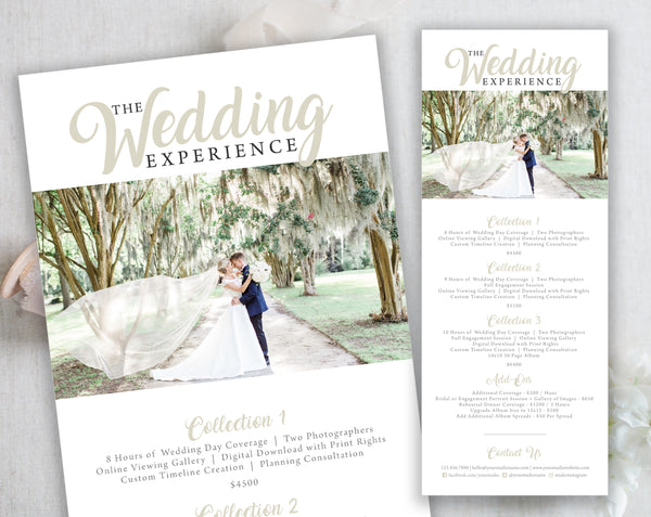 The Wedding Experience Collections - The Charleston Collection
