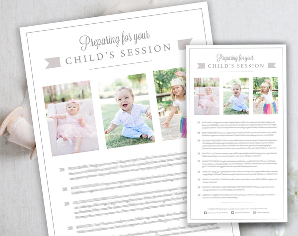 Child's Client Prep Guide Template