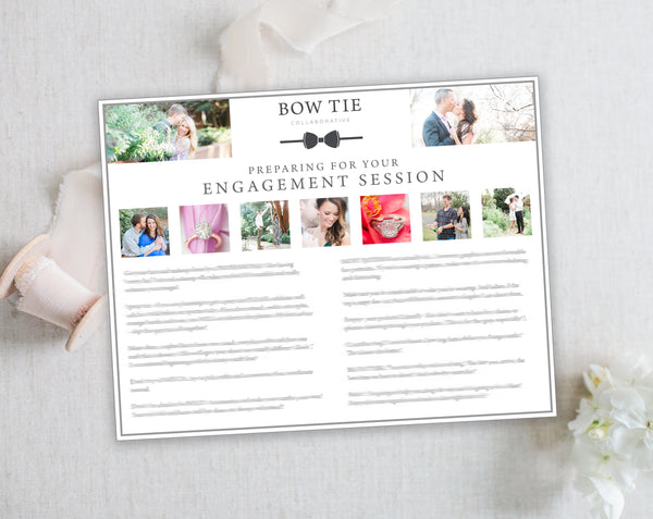 Engagement Client Prep Guide Template - Horizontal
