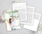 The Ultimate Questionnaire Bundle, Engagement, Wedding, Portrait & Blog Questionnaire Photoshop Templates - Gray Tabs
