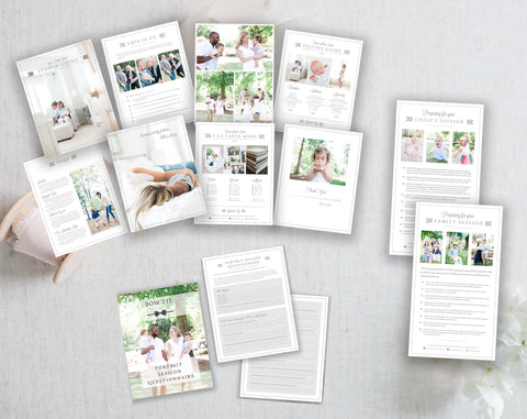 Family Photographer Bundle