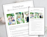 Family Client Prep Guide Template