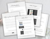 Photoshop Template Instruction Guide - Free with Purchase!