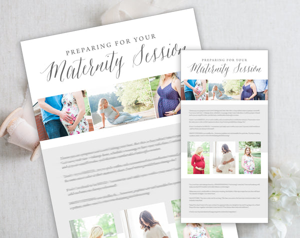 Maternity Client Prep Guide Template