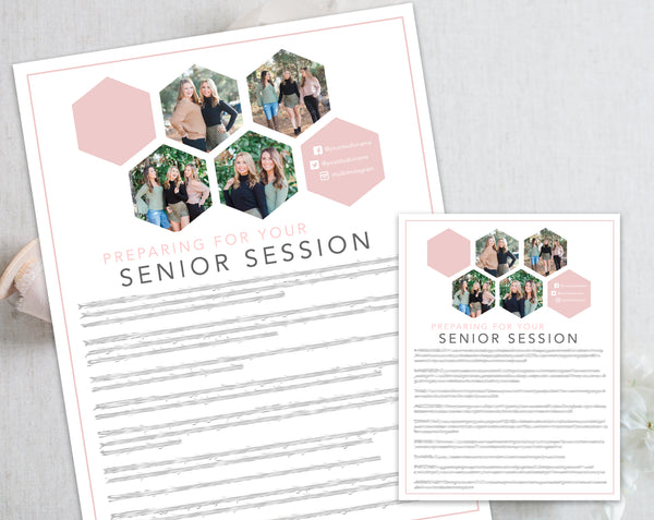 Senior Prep Guide - Hexagon Design
