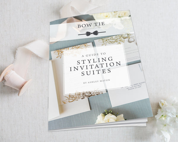 Photography Education Guides. How to Guide: Styling Invitation Suites. eBook. Instant Download.