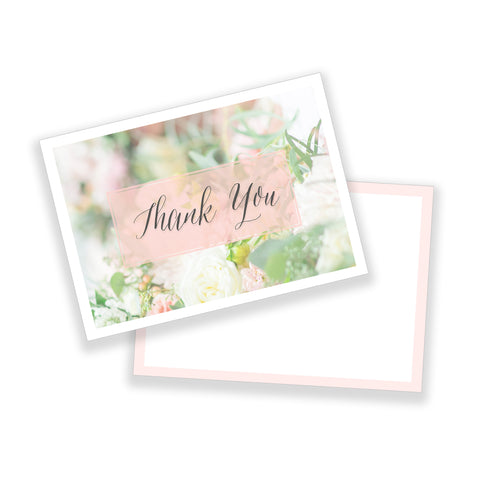 Classic Thank You Note - Customizable Template