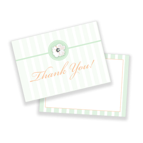 Floral Thank You Note Customizable Template