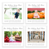 Photography Mini Session Templates - Marketing Templates, Digital Download.