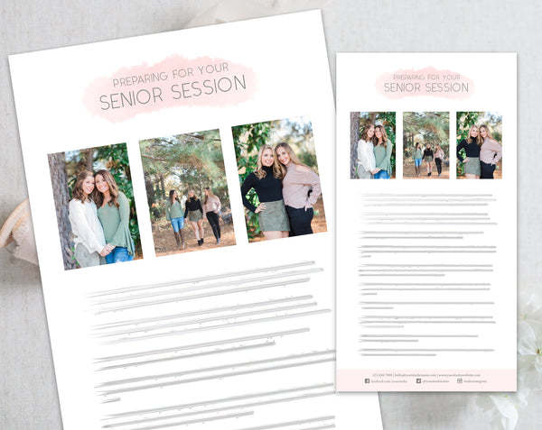 Senior Client Prep Guide Template
