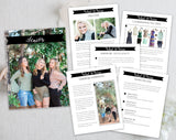 Senior Style Guide Template