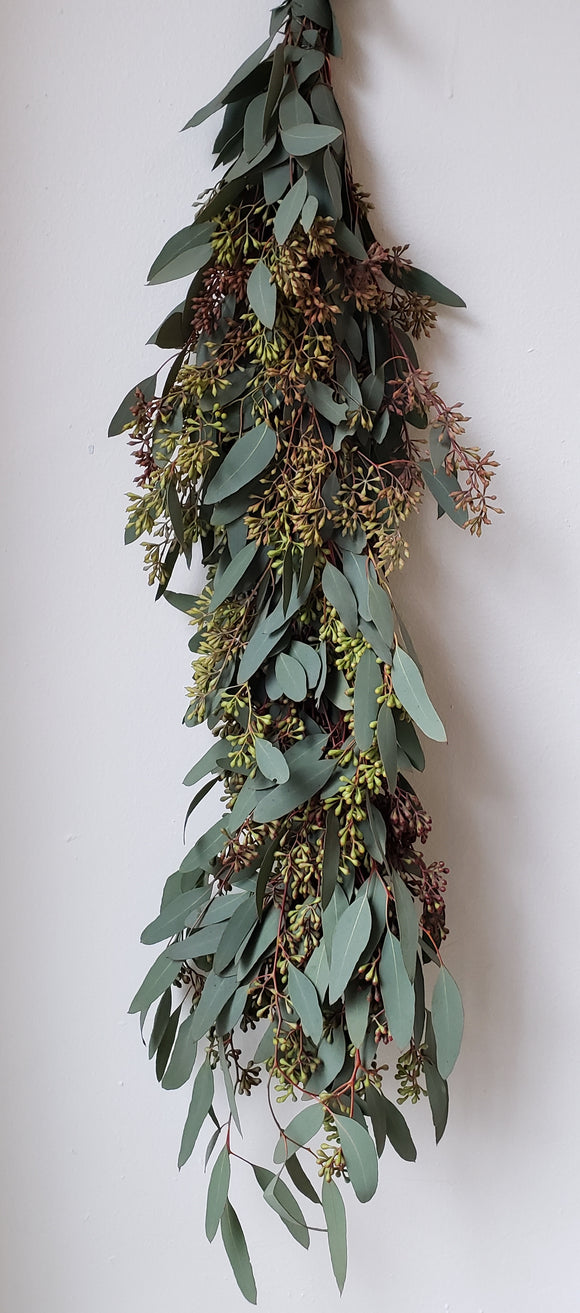 Seeded Eucalyptus Garland ($16.00  per foot)