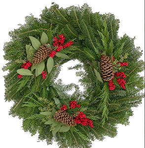 Wreath Holiday Classic Round