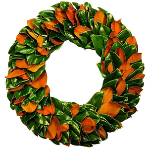 Wreath Magnolia Round