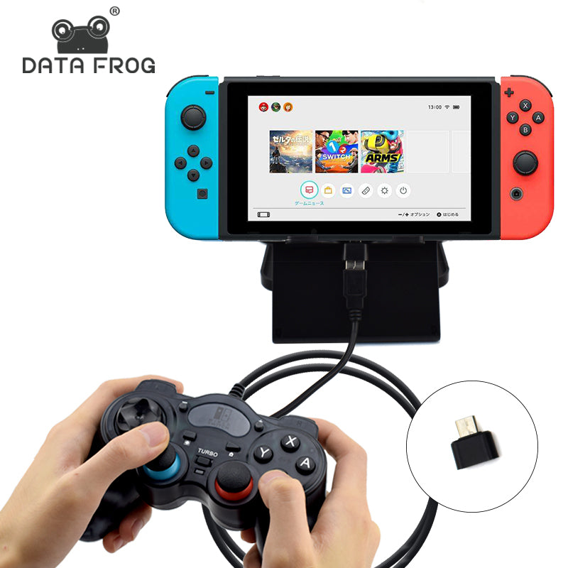 Nintendo Switch Game Joystick For PC Windows 7/8/10 USB Wired ...