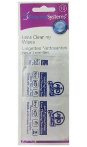 Lens Cleaning Wipes, 10 Wipes - Green Valley Pharmacy Ottawa Canada
