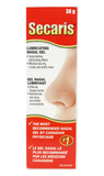 Secaris Nasal Lubricant, 30g Gel - Green Valley Pharmacy Ottawa Canada