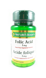 Nature's Bounty Folic Acid 1mg, 150 Tablets - Mobile Pharmacy Ottawa Canada