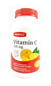 Wampole Vitamin C 500mg Tablets - Mobile Pharmacy Ottawa Canada