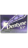 Dentyne Ice Midnight Mint Gum, 12 Pieces - Green Valley Pharmacy Ottawa Canada