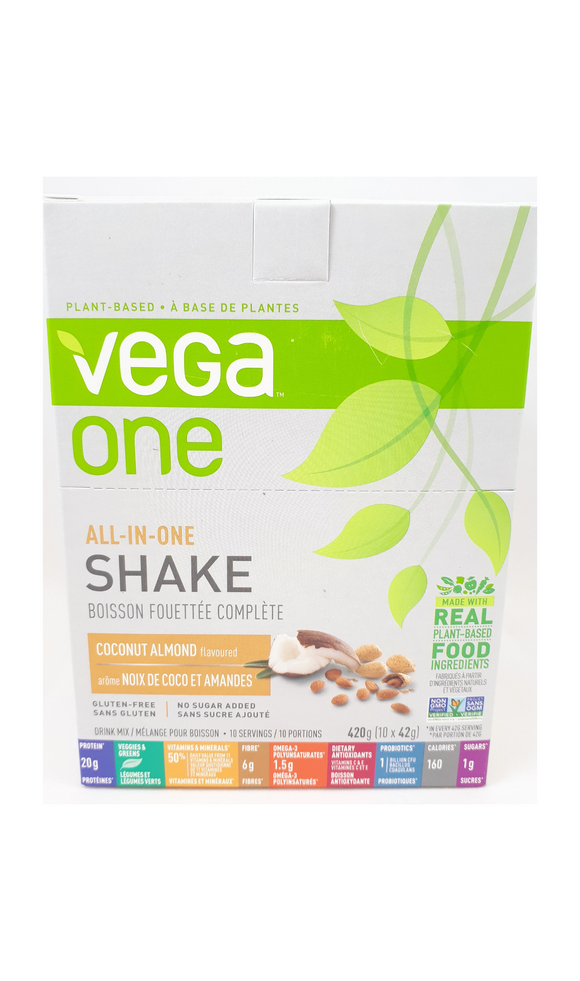 VegaOne All-in-One Shake, 42g Drink Mix - Green Valley Pharmacy Ottawa Canada