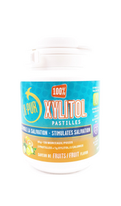 X-PUR Xylitol, 130 Fruit-Flavoured Pastilles - Green Valley Pharmacy Ottawa Canada