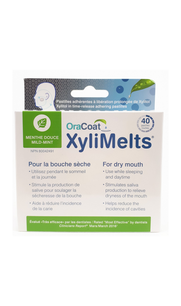 Xylimelts, 40 Pastilles - Green Valley Pharmacy Ottawa Canada
