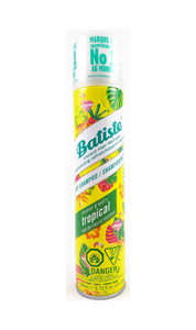 Batiste Instant Hair Refresh, 200mL Dry Shampoo, Coconut and Exotic Tropical Scent - Green Valley Pharmacy Ottawa Canada