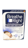 Breathe Right Nightly Sleep, 8 Clear Nasal Strips - Green Valley Pharmacy Ottawa Canada