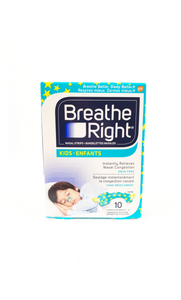 Breathe Right Kids, 10 Patterned Nasal Strips - Green Valley Pharmacy Ottawa Canada