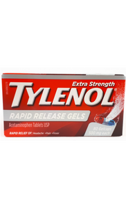 Tylenol Extra Strength Rapid Release gelcaps, 80 capsules - Green Valley Pharmacy Ottawa Canada