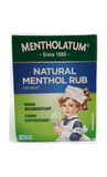 Mentholatum Natural Menthol Rub, 100 mL - Mobile Pharmacy Ottawa Canada