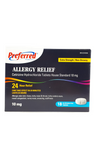 Preferred Allergy Relief XS 10mg, 18 tablets - Green Valley Pharmacy Ottawa Canada