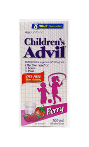 Advil Children's Age 2 to 12 yrs, Berry Flavor - Green Valley Pharmacy Ottawa Canada