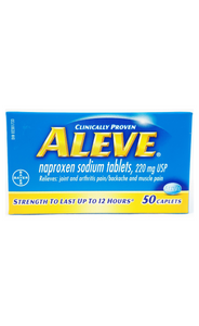 Aleve Caplets, 220mg - Green Valley Pharmacy Ottawa Canada