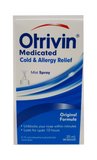 Otrivin Cold and Allergy Relief Original,  Mist Spray - Green Valley Pharmacy Ottawa Canada