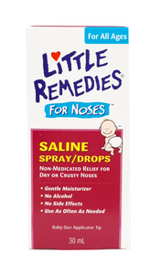 Little Remedies for Little Noses Saline Spray, 30 mL - Mobile Pharmacy Ottawa Canada