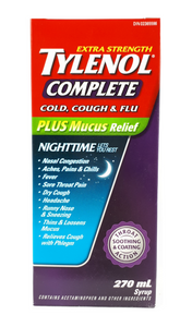 Tylenol XS Cough Cold & Flu Nighttime, 270 mL - Green Valley Pharmacy Ottawa Canada