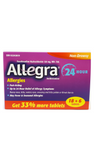 Allegra 24 hour Allergies 18+6 tablets - Green Valley Pharmacy Ottawa Canada