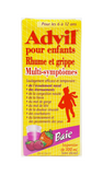 Advil Children's Cold & Flu Ages 6 to 12 Yrs, Berry Flavor - Green Valley Pharmacy Ottawa Canada