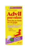 Advil Children's Cold & Flu, Ages 2 to 12 Yrs, Grape Flavor - Green Valley Pharmacy Ottawa Canada
