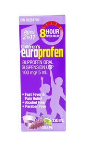 Children's Europrofen Suspension Ages 2 to 11 YRS - Green Valley Pharmacy Ottawa Canada