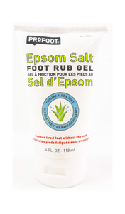 Profoot Epsom Salt Foot Rub Gel, 118 mL - Green Valley Pharmacy Ottawa Canada