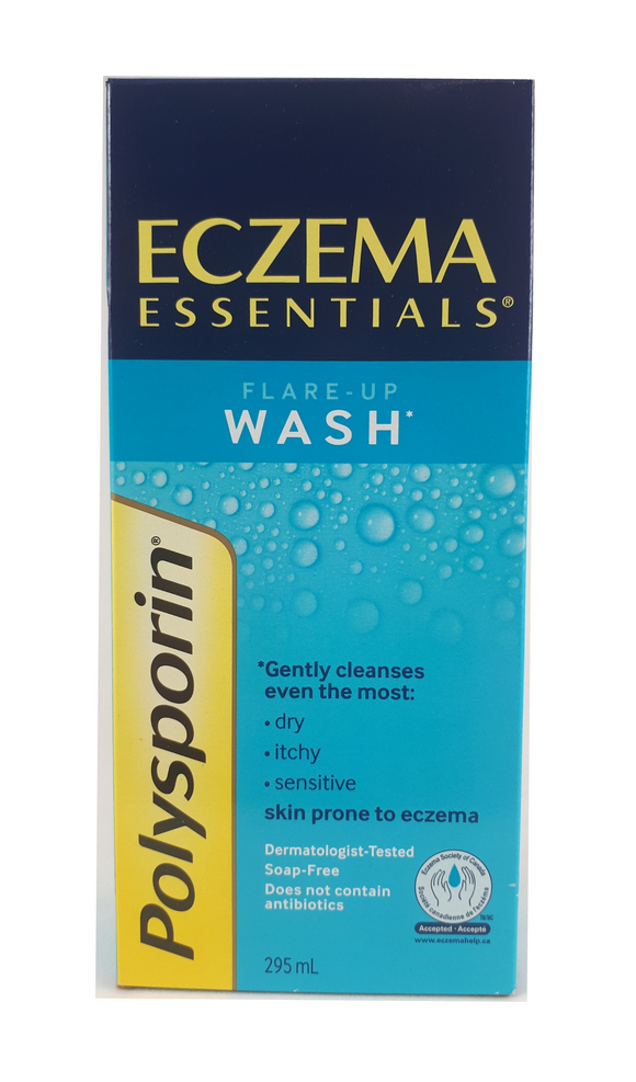 Polysporin Eczema Wash, 295 mL - Green Valley Pharmacy Ottawa Canada