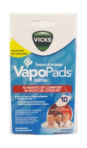 Vicks VapoPads, 10 refills - Green Valley Pharmacy Ottawa Canada